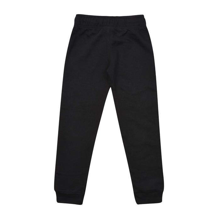 Pantaloni lungi copii Champion Rib Cuff Ultra Light Fall Fleece negru -big