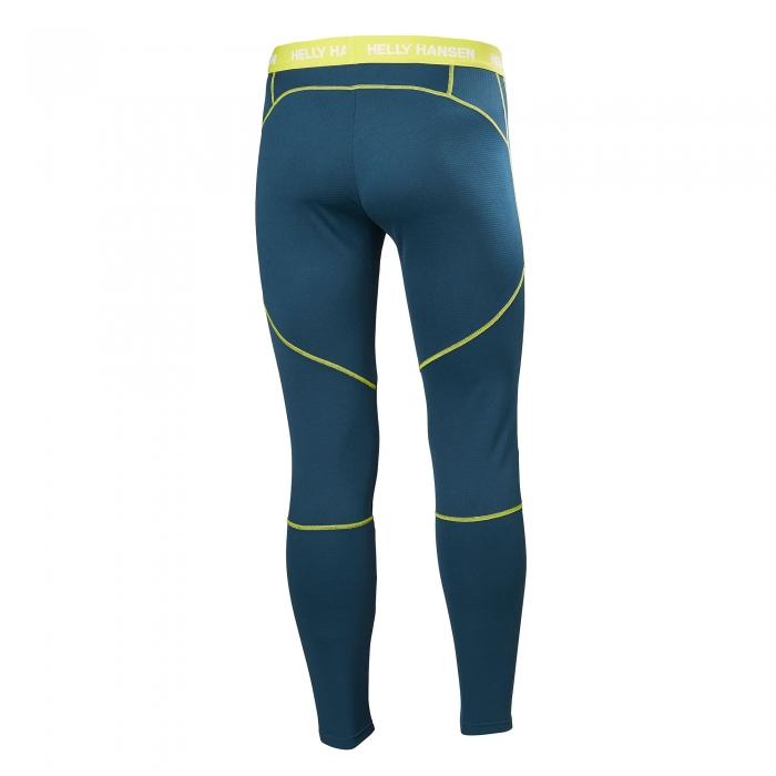 Pantaloni termici barbati Helly Hansen HH Lifa Active turcoaz-big