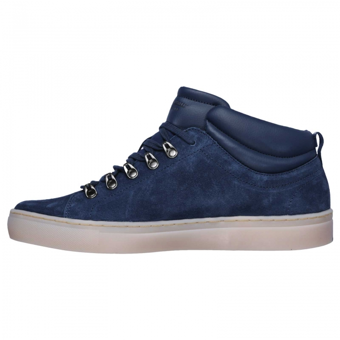 Pantofi casual barbati Skechers Side Street- Hablow bleumarin-big