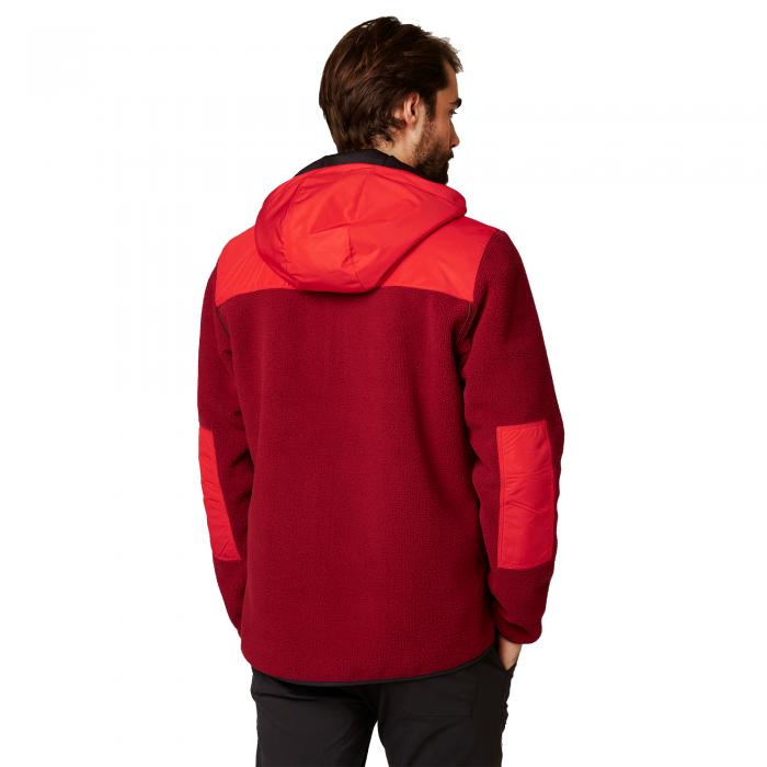 Jacheta cu doua fete barbati Helly Hansen Verket Reversibile rosu-big