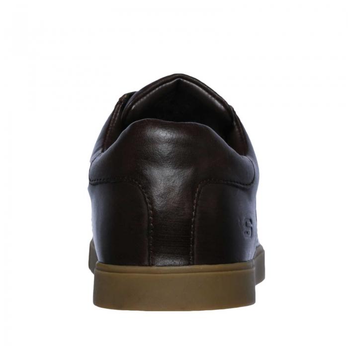 Pantofi casual barbati Skechers Volden- Fandom ciocolatiu-big