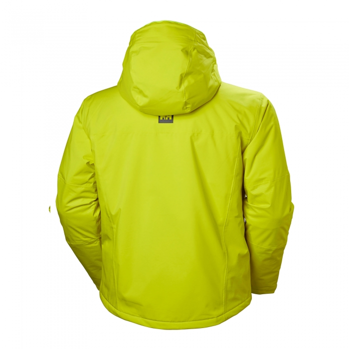 Geaca de ski barbati Helly Hansen Double Diamond Jacket verde-big