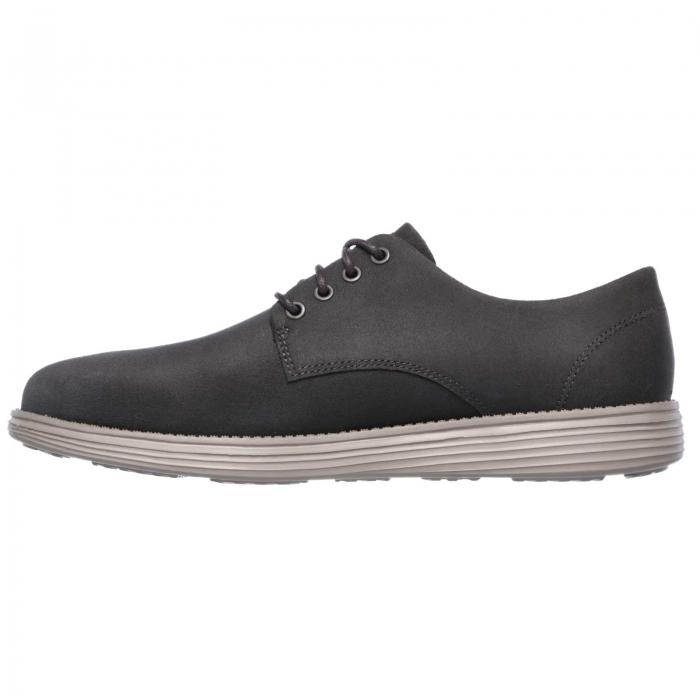 Pantofi casual barbati Skechers Status- Versen bleumarin-big