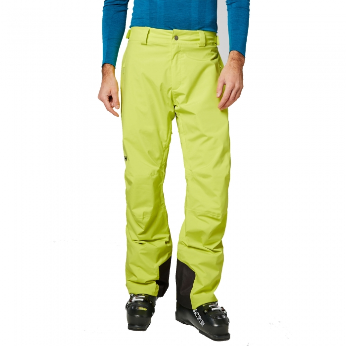 Pantaloni ski barbati Helly Hansen Legendary Pant verde-big