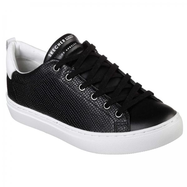 Pantofi sport dama Skechers SIDE STREET TEGU negru/alb-big