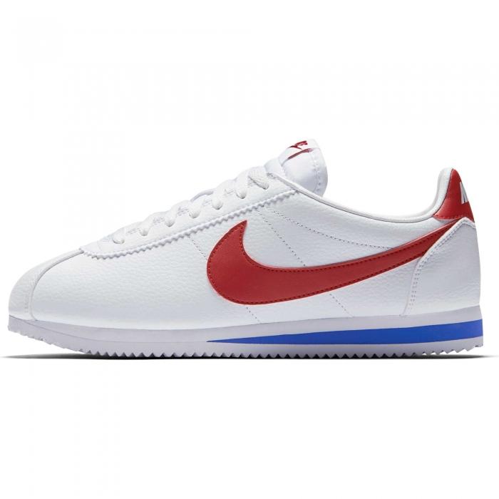 Pantofi sport barbati Nike CLASSIC CORTEZ LEATHER alb-big
