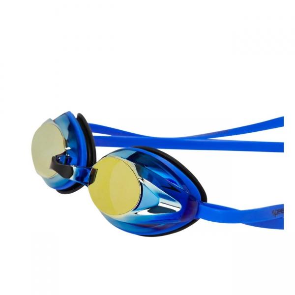 Ochelari inot adulti Speedo Opal Mirror Plus albastru/auriu-big