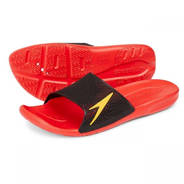 Papuci barbati Speedo Atami II Max rosu/portocaliu-big