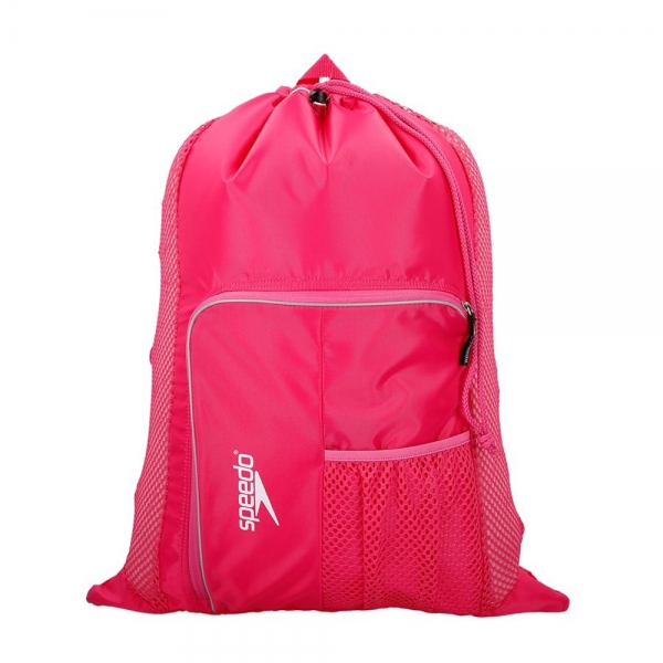 Saculet de plasa pentru accesorii Speedo Deluxe roz;-big
