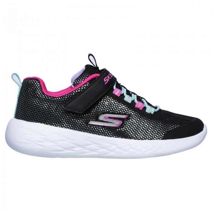 Pantofi sport copii Skechers Go Run 600- Sparkle runner, negru-big