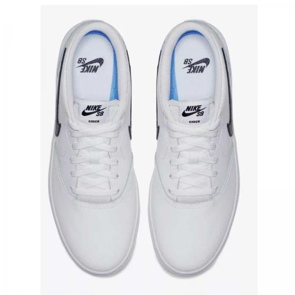Pantofi barbati Nike SB CHECH SOLAR alb-big