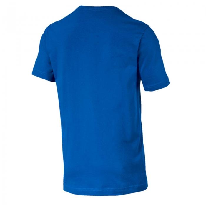 Tricou barbati Puma ESS Logo albastru-big
