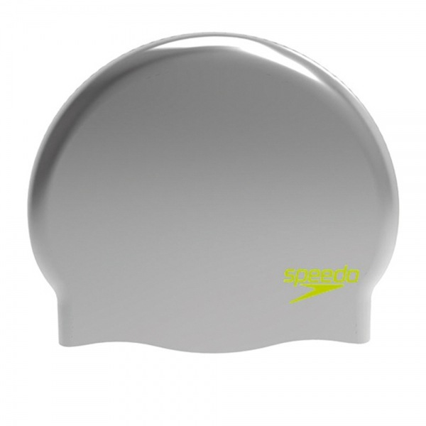 Casca inot copii din silicon Speedo moulded argintiu/verde-big