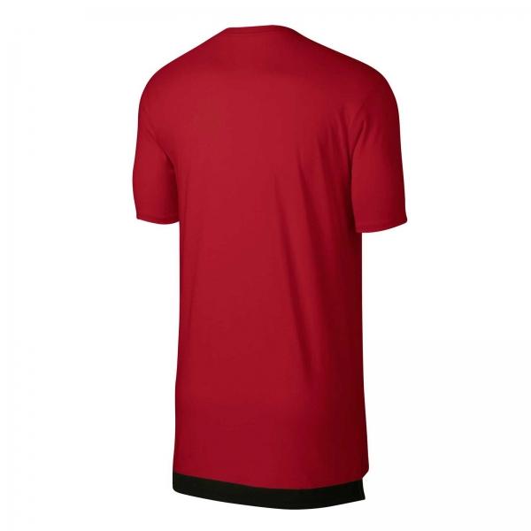 Tricou barbati Nike M AIR SPRT CREW rosu-big