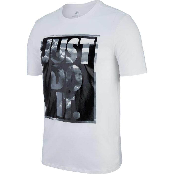 Tricou barbati Nike  NSW TEE JDI+ 1 alb-big