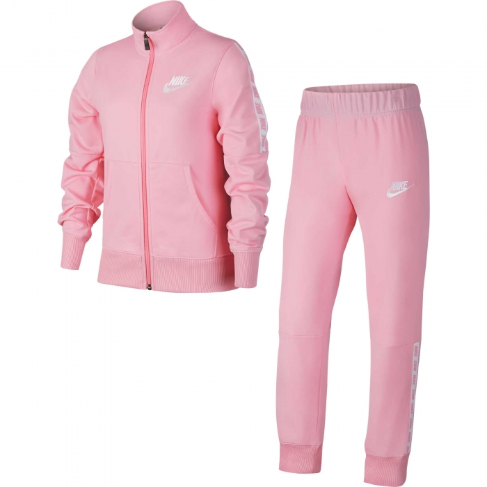 Trening copii Nike NSW TRK SUIT TRICOT roz-big