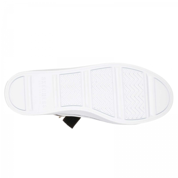 Pantofi sport dama Skechers HI-LITES alb/auriu-big