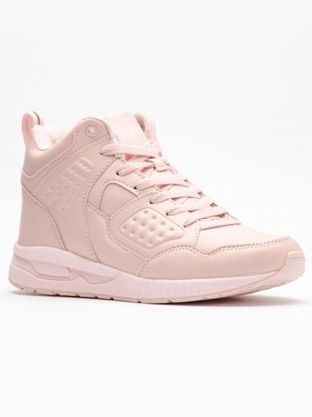 Pantofi sport inalti femei Brille Low Pillow roz-big