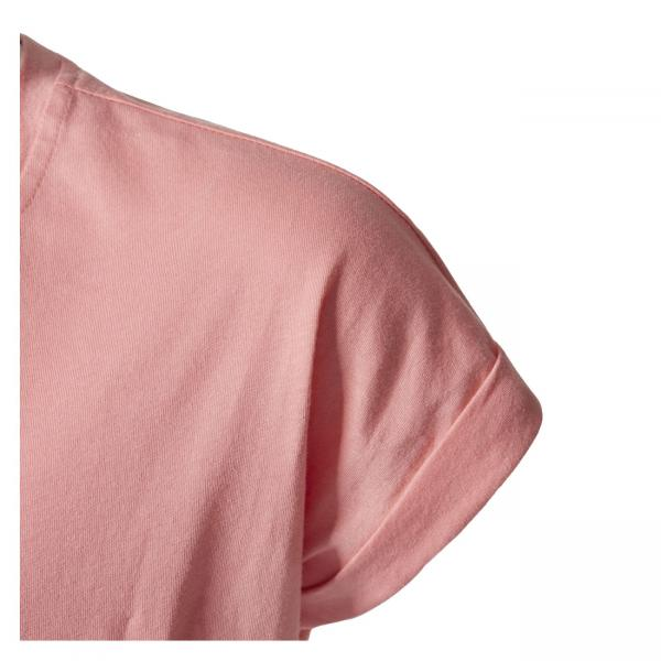 Tricou copii Adidas YG LOGO TEE roz-big