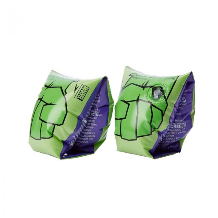 Aripioare inot copii unisex Speedo Disney Marvel Hulk Printed verde-big