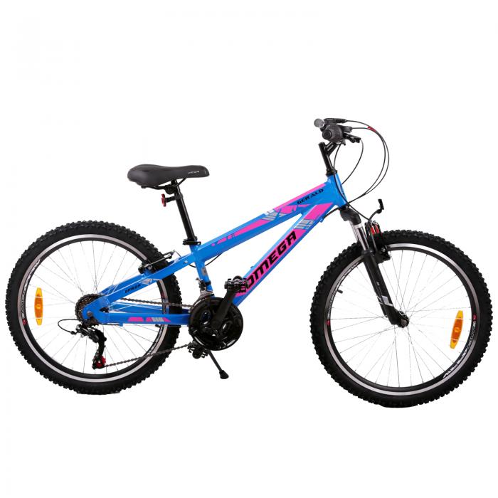 Bicicleta copii Omega Gerald albastru 20