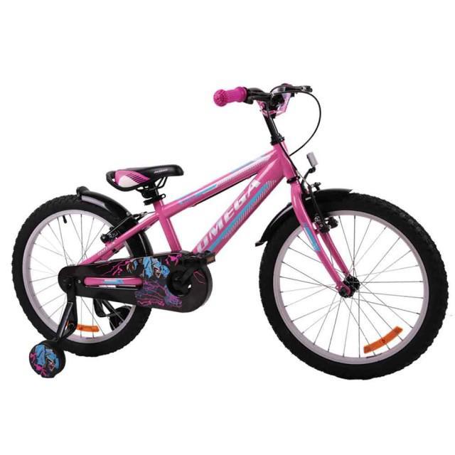 Bicicleta copii Omega Master roz 20
