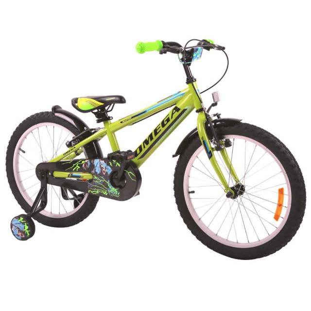 Bicicleta copii Omega Master verde 16