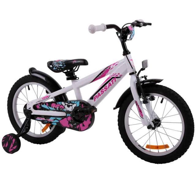 Bicicleta copii Passati Gerald alb 16