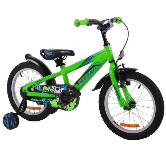 Bicicleta copii Passati Gerald verde 20