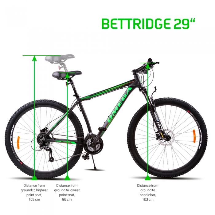 Bicicleta mountainbike Omega Bettridge 29