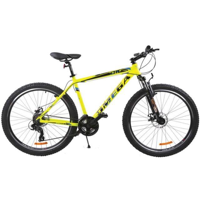 Bicicleta MTB OMEGA SWEEP galben 27.5