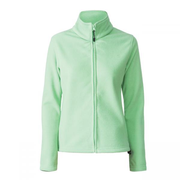 Bluza polar femei Sun Peak verde-big