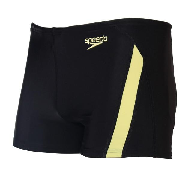 Boxeri inot Speedo Essential negru/galben-big
