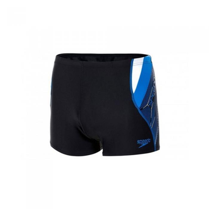 Boxeri Logo Curve pentru barbati Speedo bleumarin-big