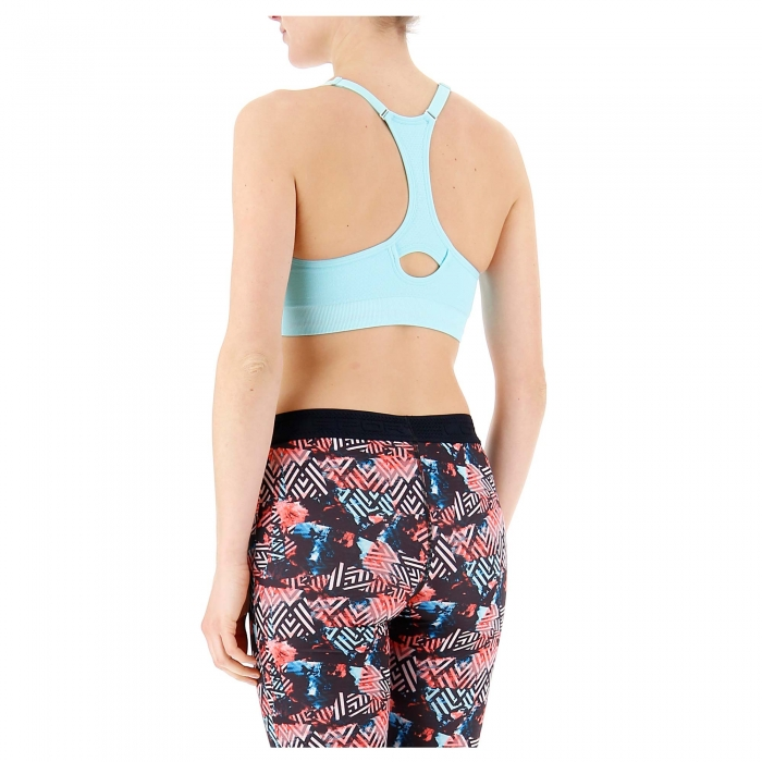 Bustiera femei Lotto WELL-FIT BRA PAD SML turcoaz-big