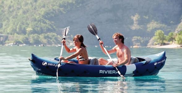 Caiac pentru 2 persoane Sevylor Riviera-big
