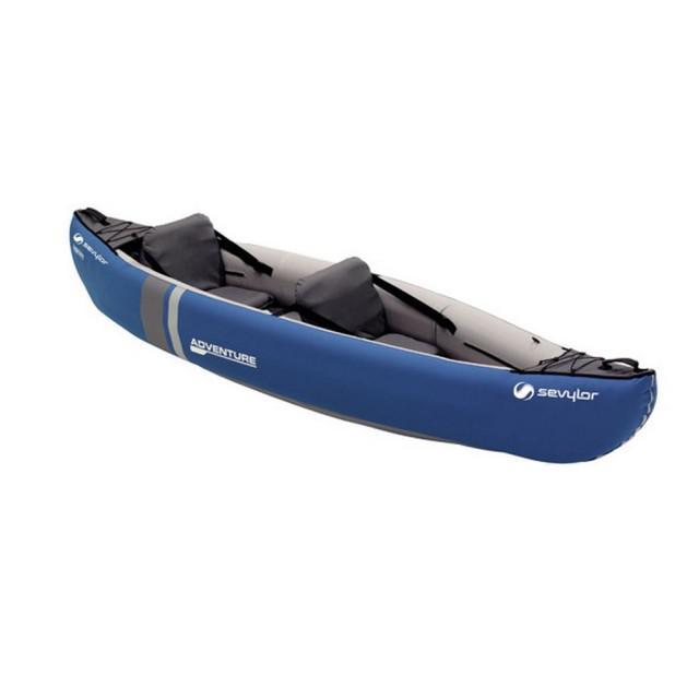 Canoe pentru 2 persoane Sevylor Adventure Kit-big