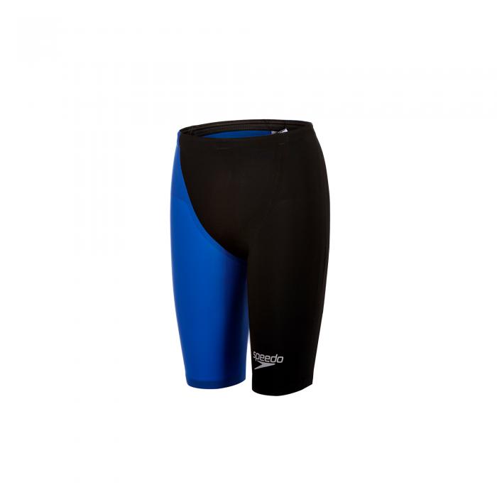Costum profesional inot Speedo pentru barbati Fastskin LZR racer elite 2 jammer negru/albastru-big