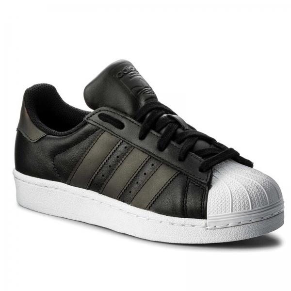 Pantofi sport dama Adidas Originals SUPERSTAR negru/negru/alb-big