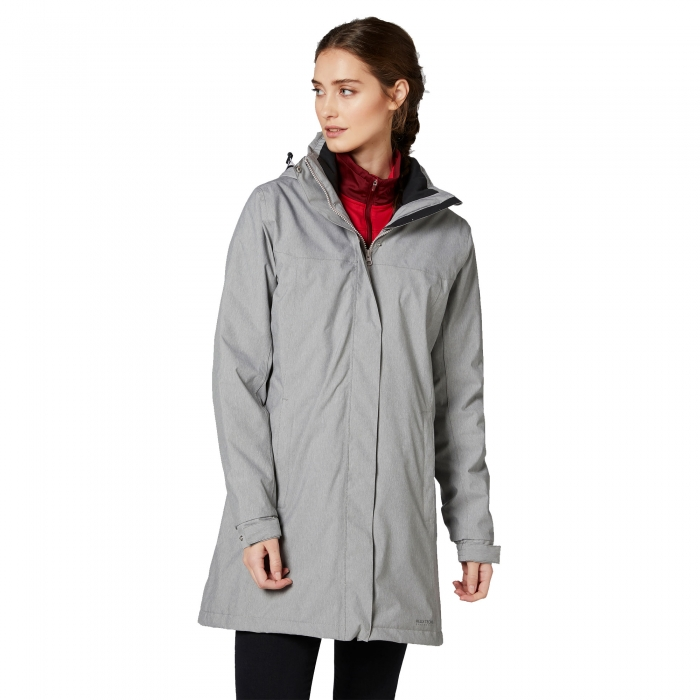 Geaca lunga femei Helly Hansen W ADEN INSULATED gri-big
