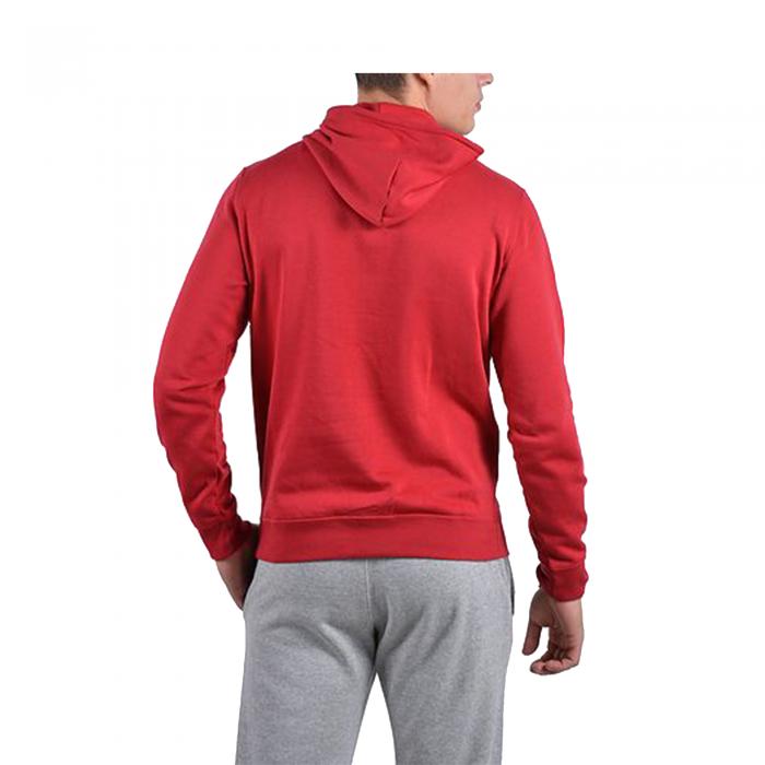 Hanorac Champion Hooded Full Zip Sweatshirt rosu-big