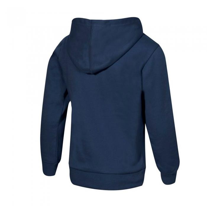 Hanorac cu gluga sport copii Champion Hooded Sweatshirt Fall Fleece bleumarin-big