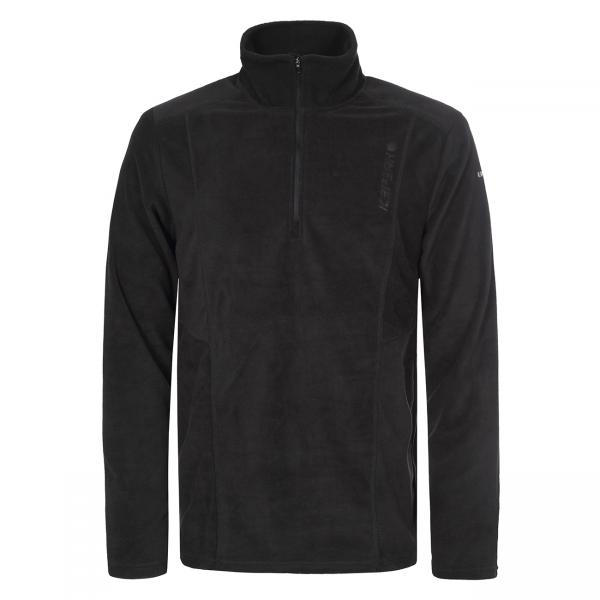 Hanorac fleece barbati Ice Peak Neron negru-big