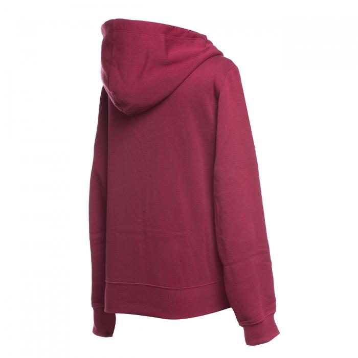 Hanorac sport cu fermoar femei Champion Hooded Full Zip Sweatshirt visiniu-big