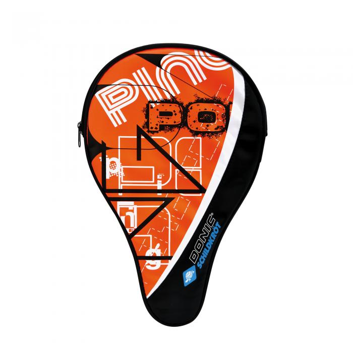 Husa paleta tenis masa Donic Trendline portocaliu-big