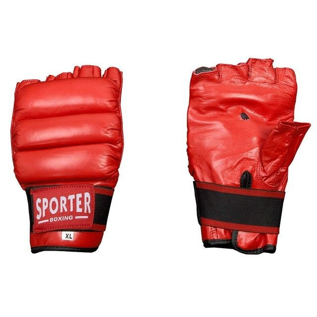 Manusi fara degete-Sporter (GS-938Red-L)-big