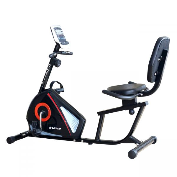 Bicicleta magnetica recumbent Lotto Fitness Noto-big