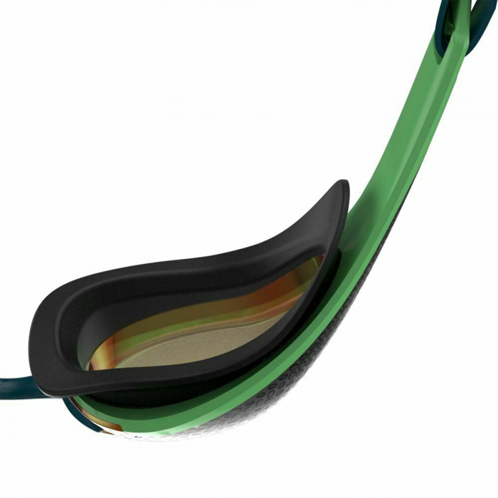 Ochelari inot adulti Speedo Fastskin Pure Focus Mirror verde/auriu-big