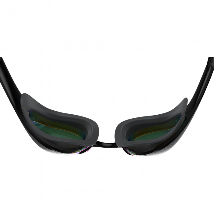 Ochelari inot adulti unisex Speedo Fastskin Pure Focus Mirror negru/auriu-big