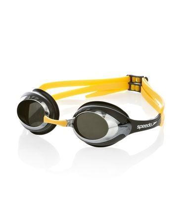 Ochelari Speedo Merit Mirror galben/negru-big